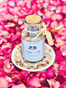 Cleanse & Calm Energy Cleansing Bath Salts - Sentient Creations