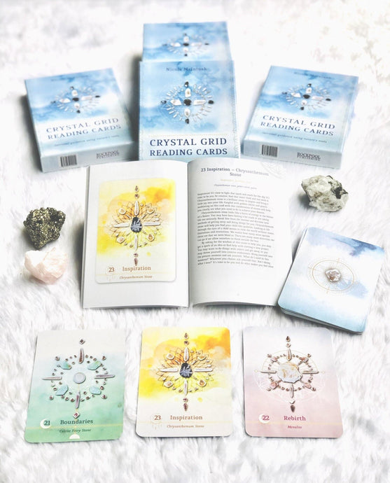 Crystal Grid Oracle Cards - Sentient Creations