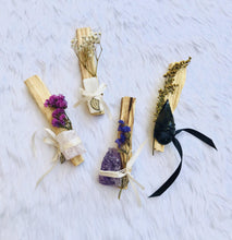 Load image into Gallery viewer, Divinity Wands - Palo Santo with Crystal Enhancement - Sentient Creations