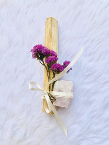 Divinity Wands - Palo Santo with Crystal Enhancement - Sentient Creations