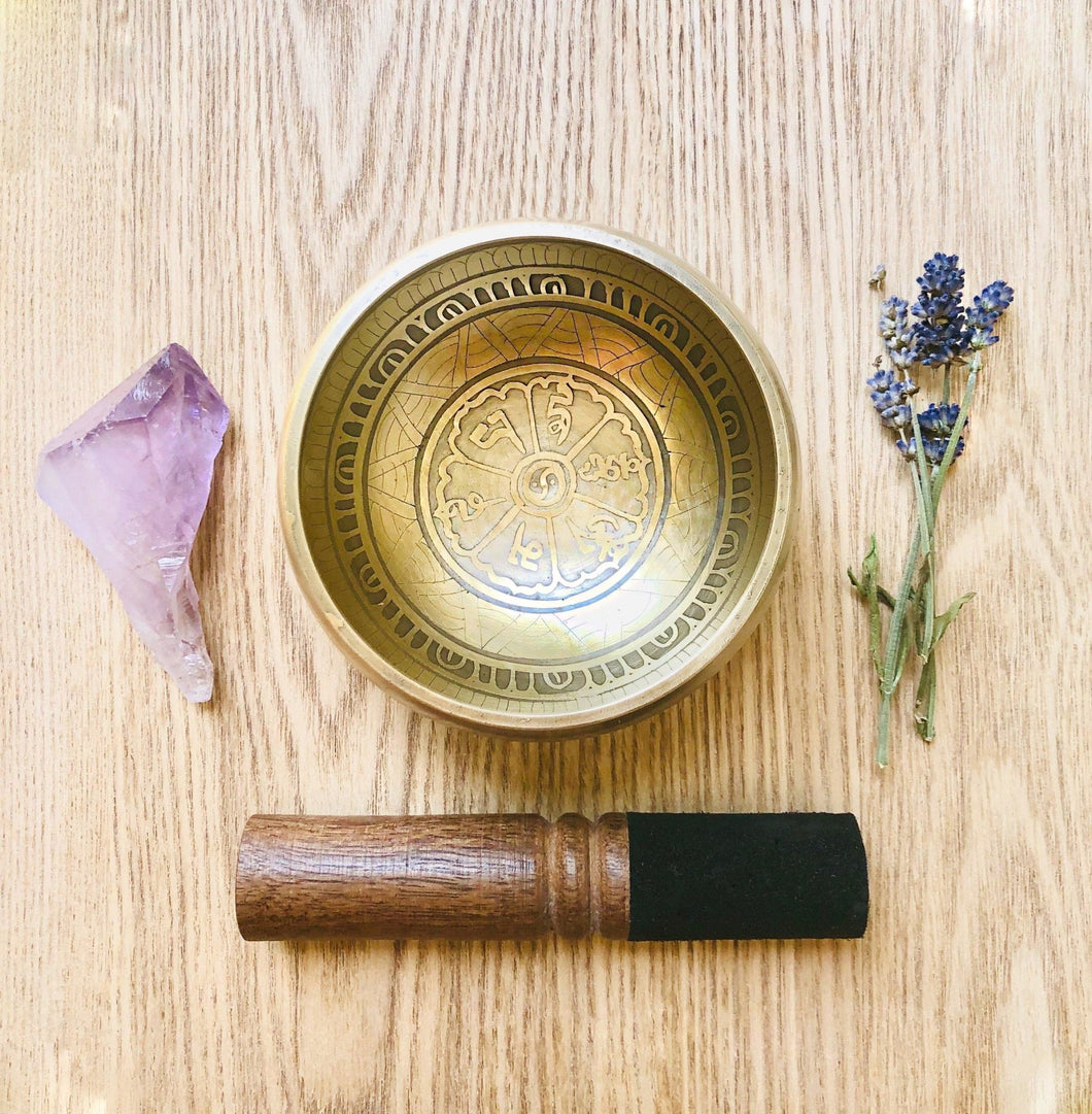 Handmade Tibetan Meditation Singing Bowl - Sentient Creations