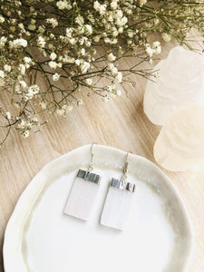 Selenite Earrings - Sentient Creations