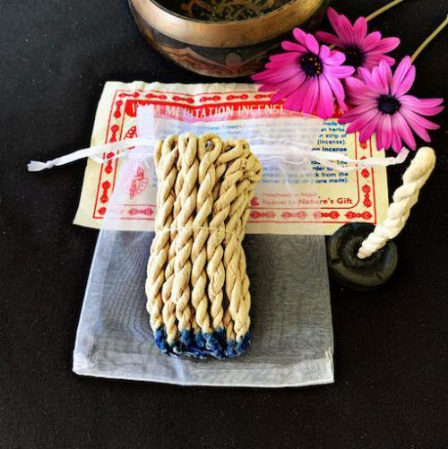 Vajra Meditation Rope Incense & Burner - Sentient Creations