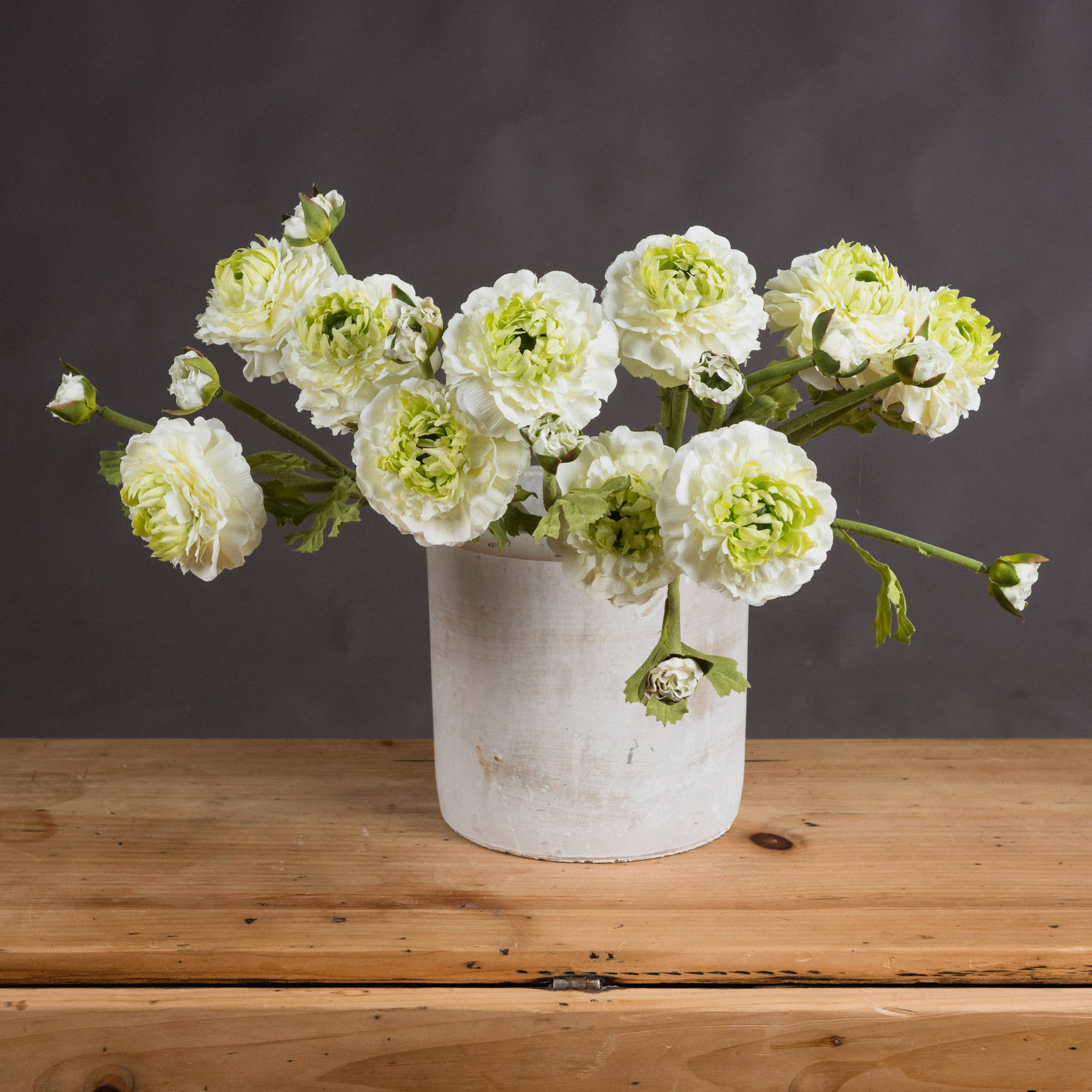 Green Ranunculus Spray