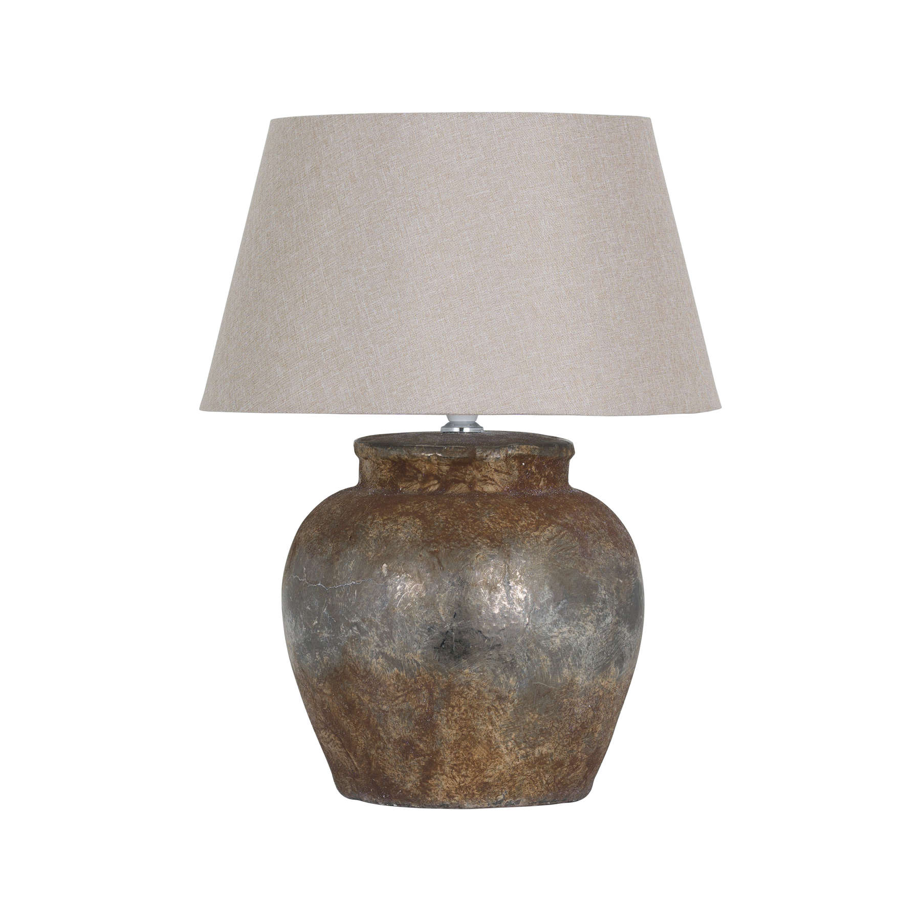 Castello Aged Stone Ceramic Table Lamp