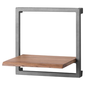 Live Edge Collection Square Shelf