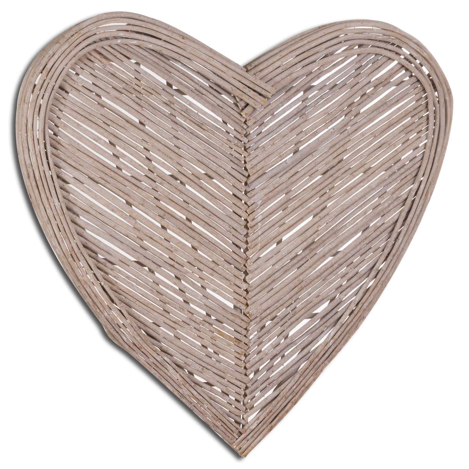 Large Heart Wicker Wall Art