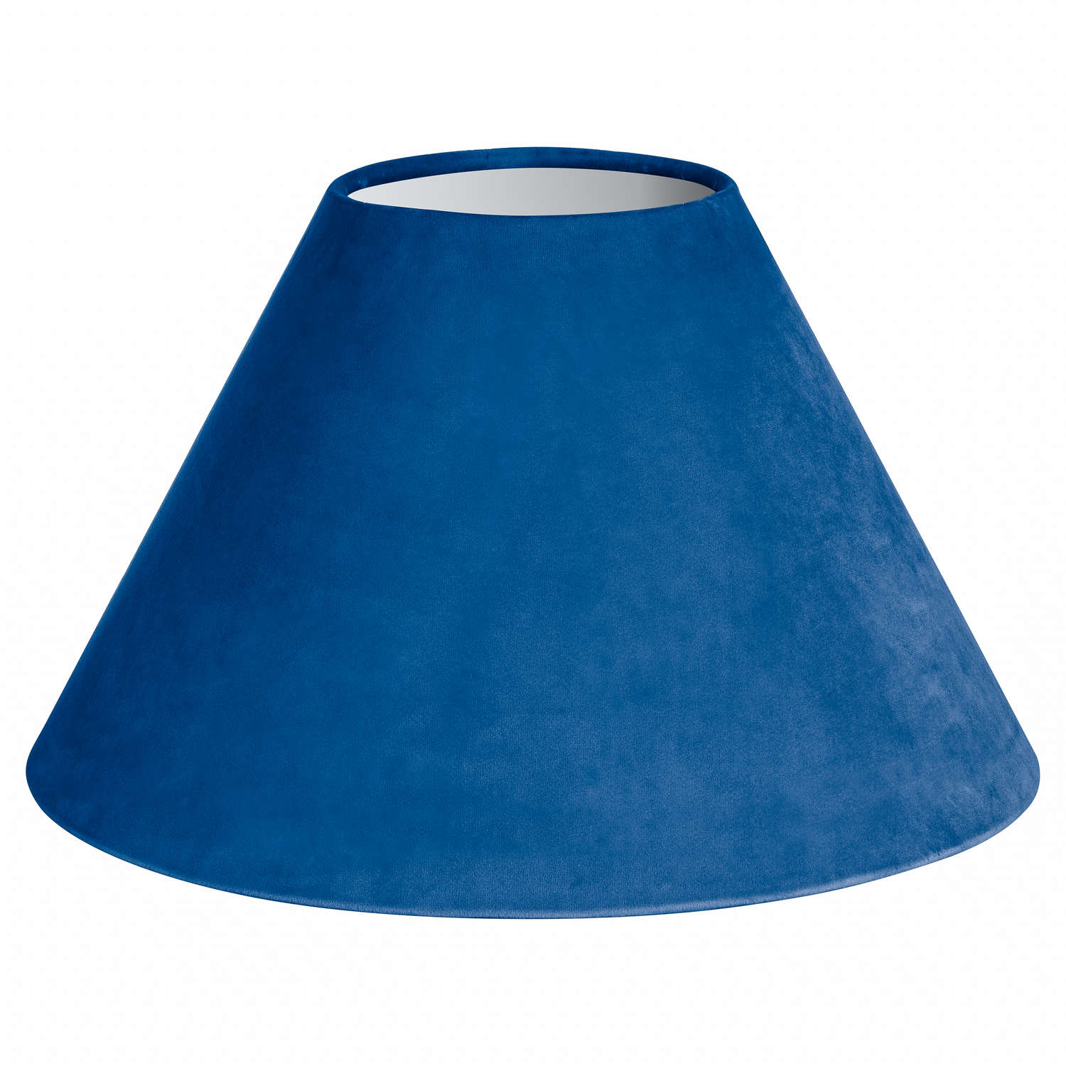 Large Sea Blue Velvet Lampshade