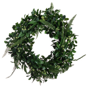 All Season Greenery Wreath
