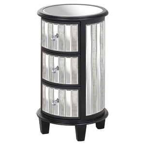 Soho Collection Circular 3 Drawer Unit