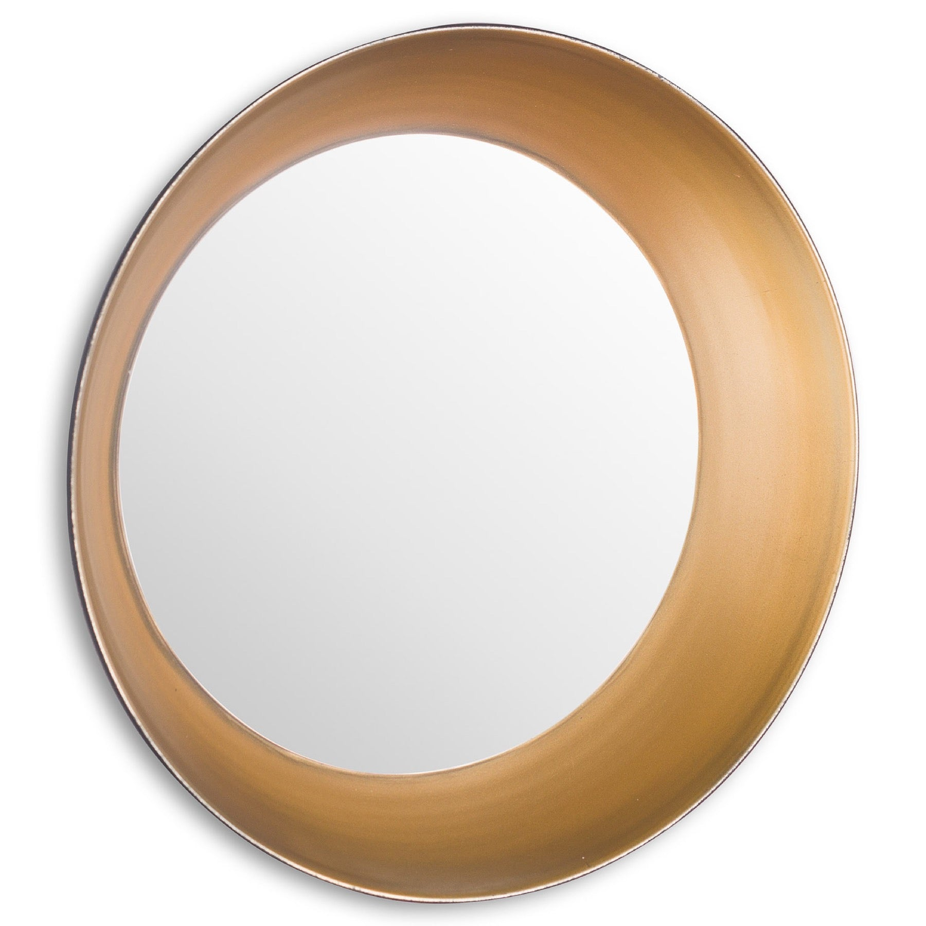 Devant Small Gold Rimmed Mirror