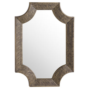 Ages Antique Bronze Detailed Wall Mirror