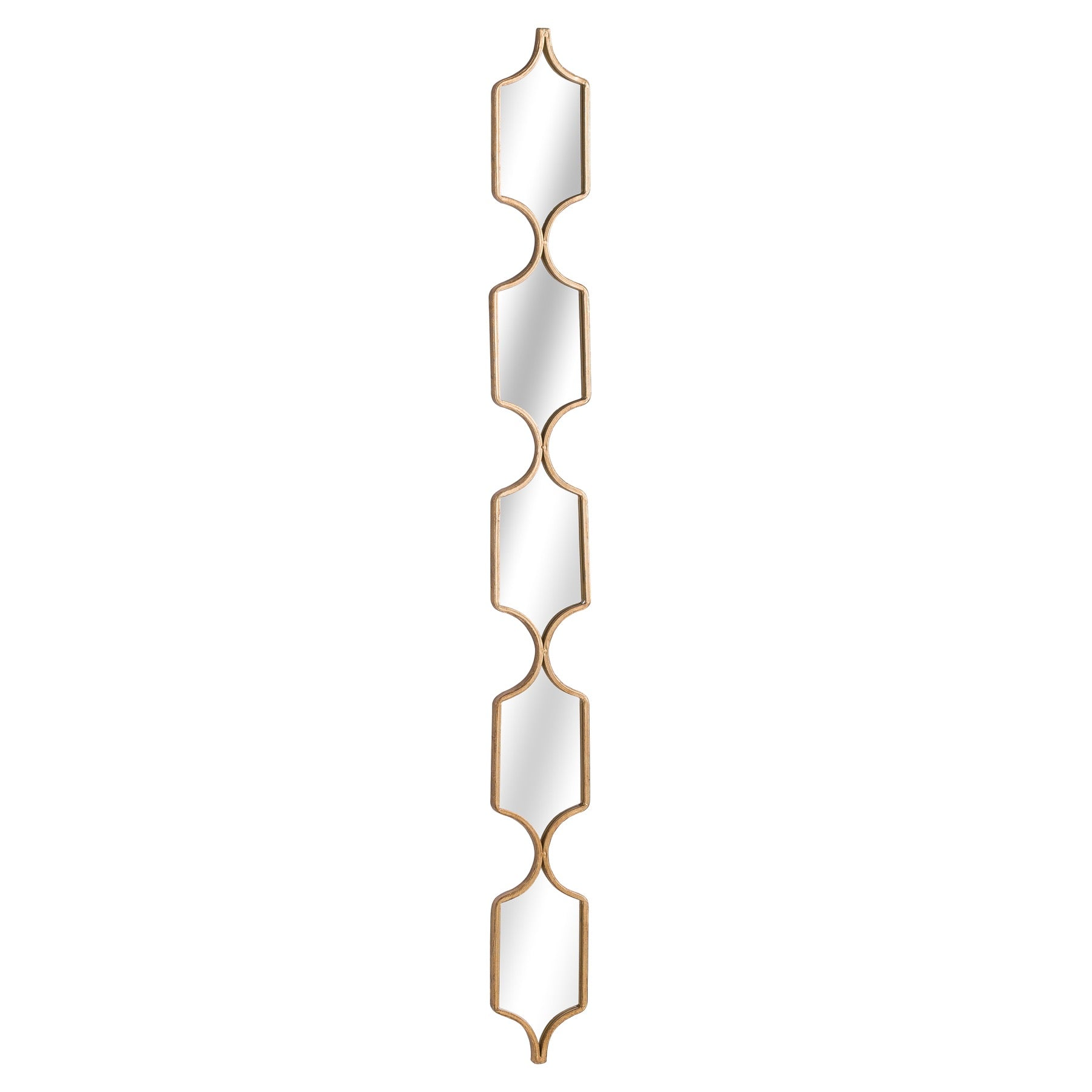 Square Decorative Hanging Collage Mirror In Gold
