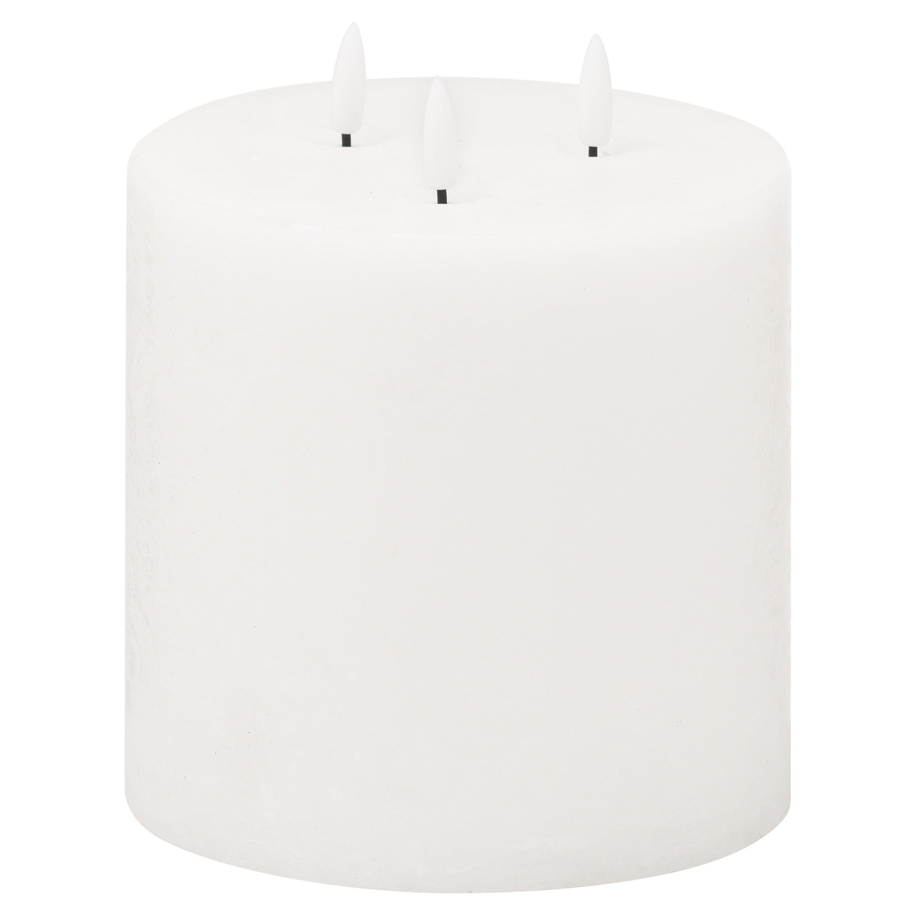 Luxe Collection Natural Glow 6x6 LED White Candle