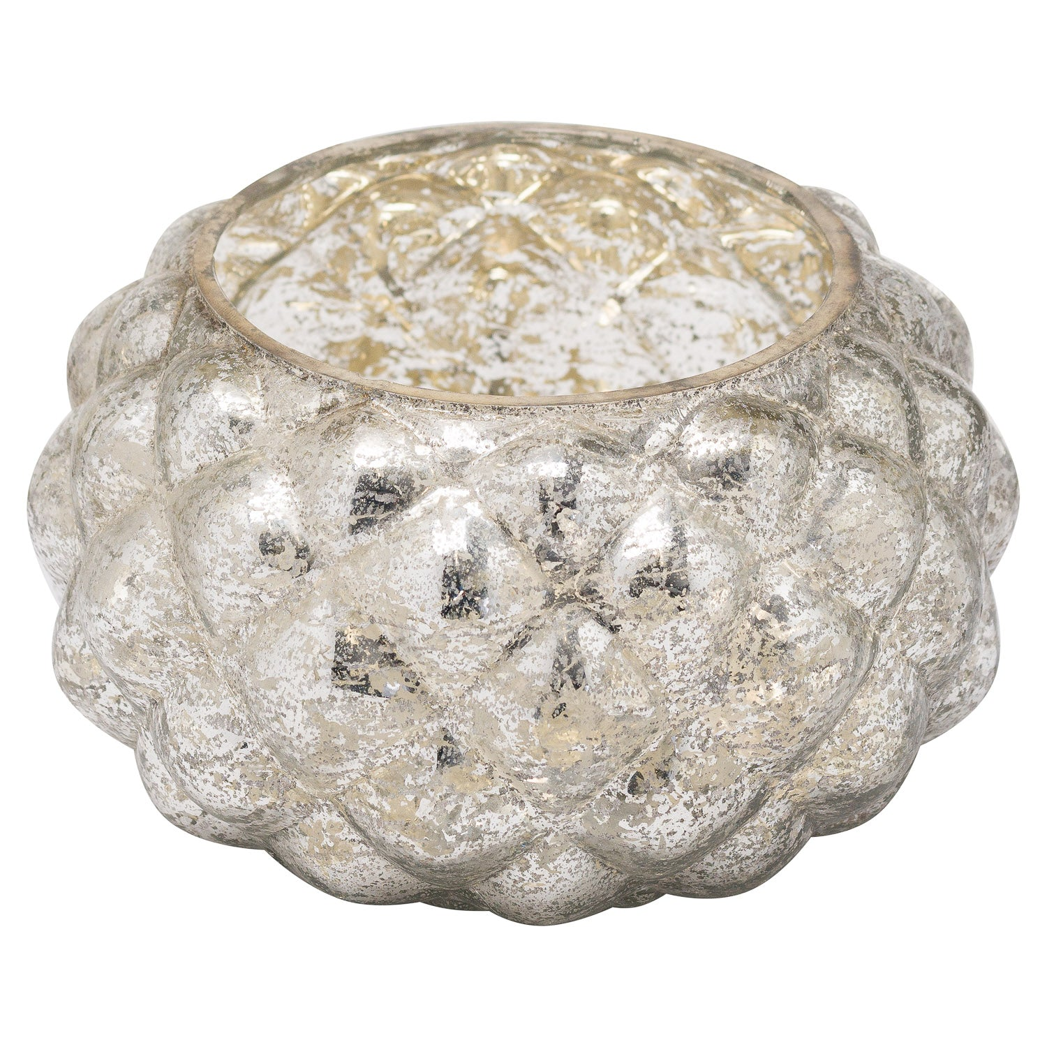 The Noel Collection Small Mercury Votive Candle Holder