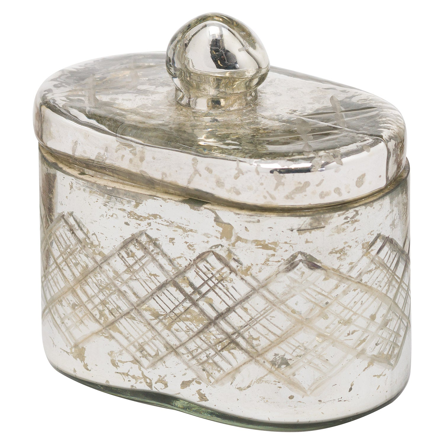 The Noel Collection Mercury Trinket Jar