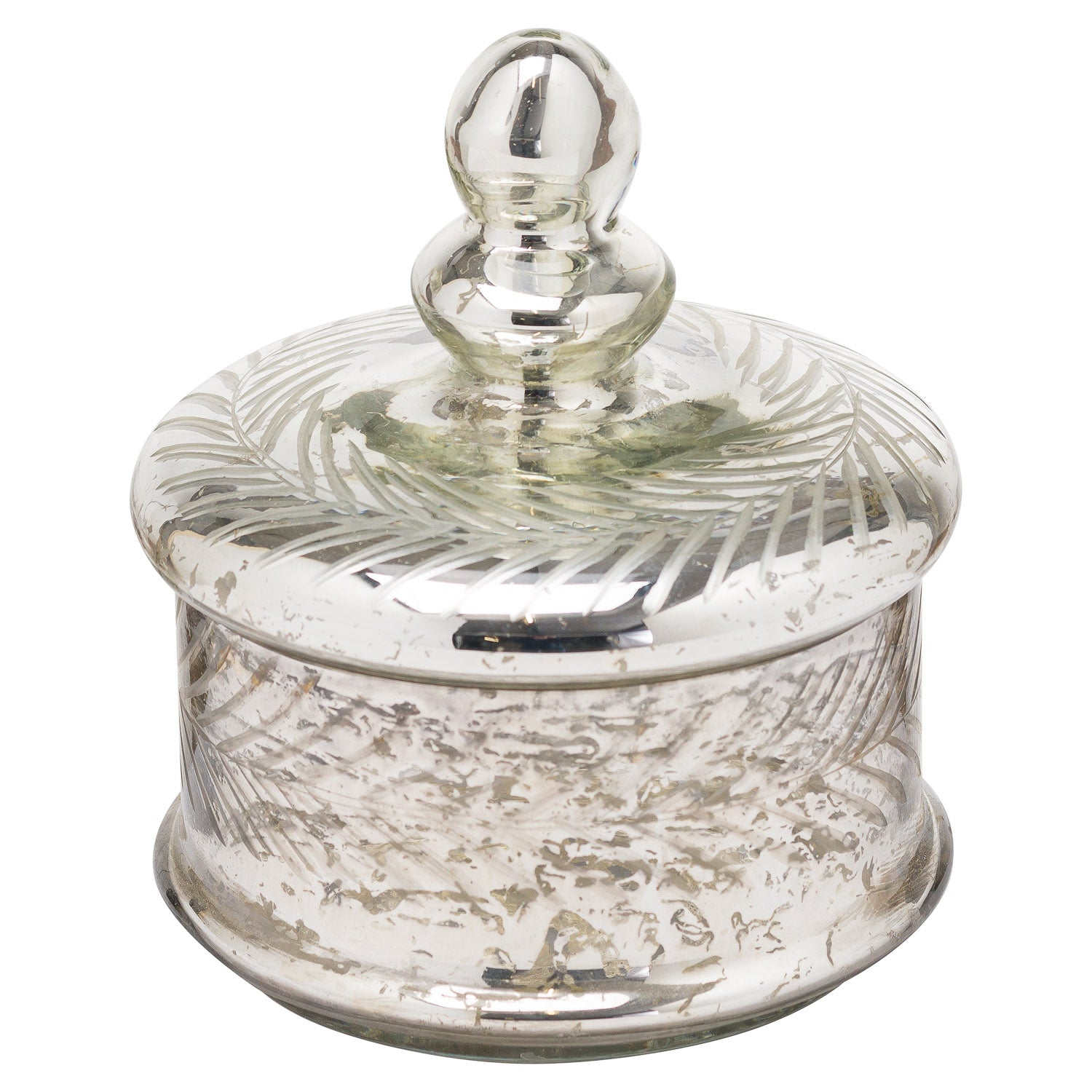 The Noel Collection Mercury Small Decorative Trinket Jar