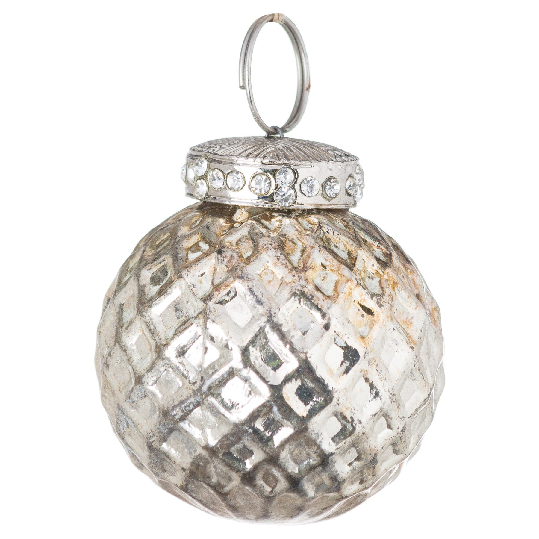 The Noel Collection Burnished  Small Honeycomb Bauble