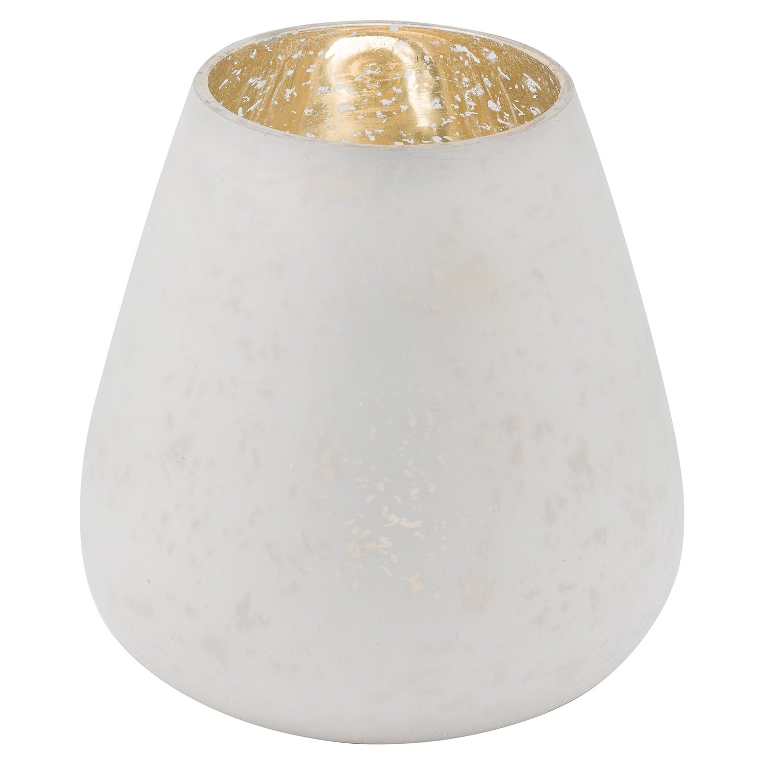 The Noel Collection White Etched Candle Holder Large