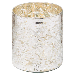 The Noel Collection Mercury Pillar Candle Holder