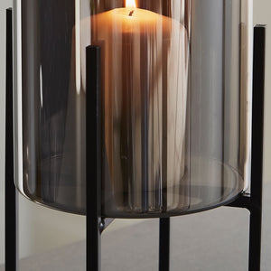 Glass Stand Candle Holder