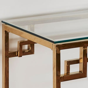 Cesar Gold Console Table