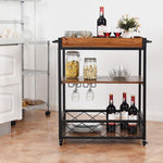 Load image into Gallery viewer, Madison 3 Tier Drink Cabinet & Trolley
