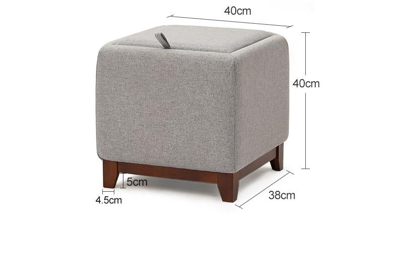 Living Room Storage Pouffe
