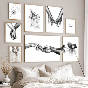 Romance In The Air Wall Prints