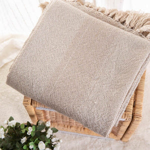 Blush Battilo Rustic Throw