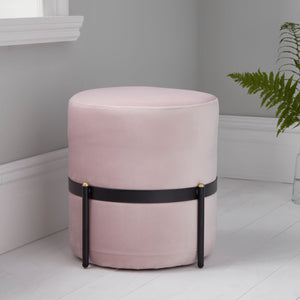 Pale Pink Stilts Stool