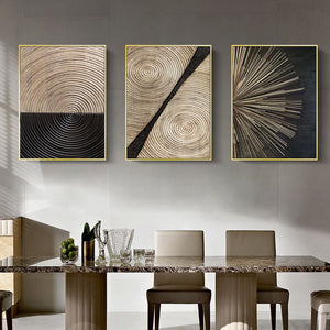 Ebony Nature Nordic Canvas Wall Painting