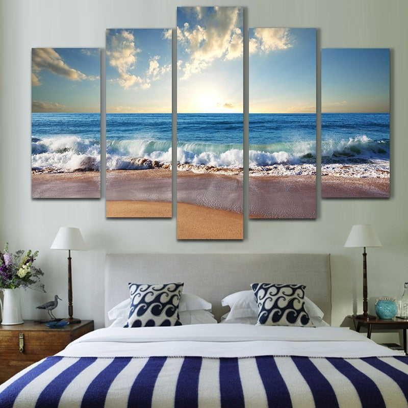 'Seashore' Wall Art Painting