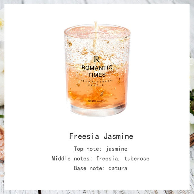 'Romantic Times' Seasonal Scented Candles
