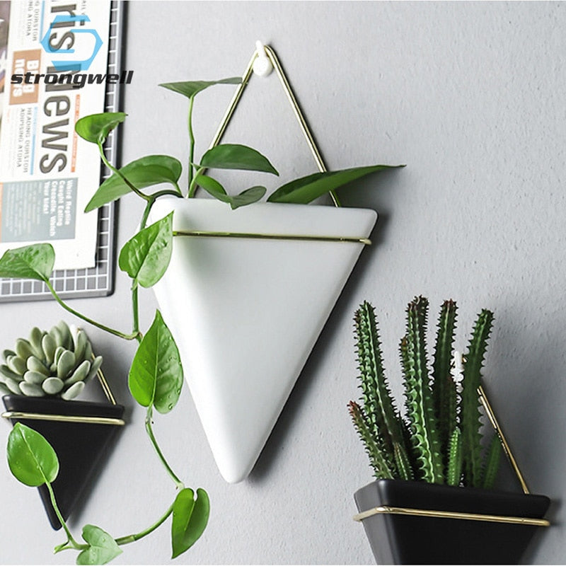Nordic Ceramic Wall Planter