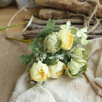Load image into Gallery viewer, Peony Artificial Silk Flowers 6/7 Heads