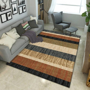Geo Autumn and Winter Carpet Rug