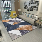 Load image into Gallery viewer, Geo Autumn and Winter Carpet Rug