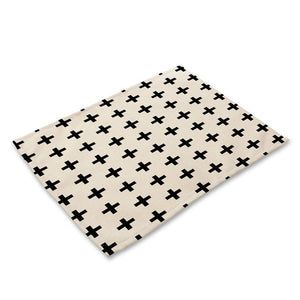 Geometric Table Placemats