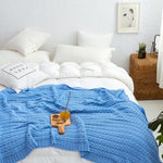 Load image into Gallery viewer, Mia 100% Chunky Cotton Knit Blanket
