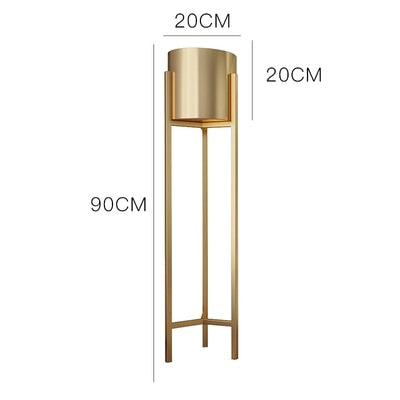 'Aurum' Tall Standing Plant Holder