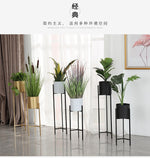 Load image into Gallery viewer, 'Aurum' Tall Standing Plant Holder