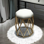 Load image into Gallery viewer, Modern Minimalist Geo Dressing Table Stool