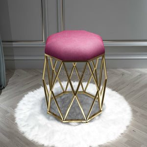 Modern Minimalist Geo Dressing Table Stool
