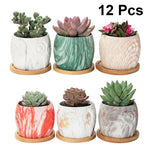 Load image into Gallery viewer, Ceramics Planters (set of 6)
