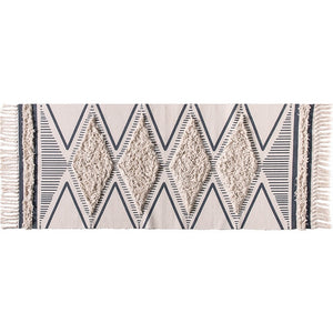 Morocco Cotton Hand Woven Printed Area Rugs