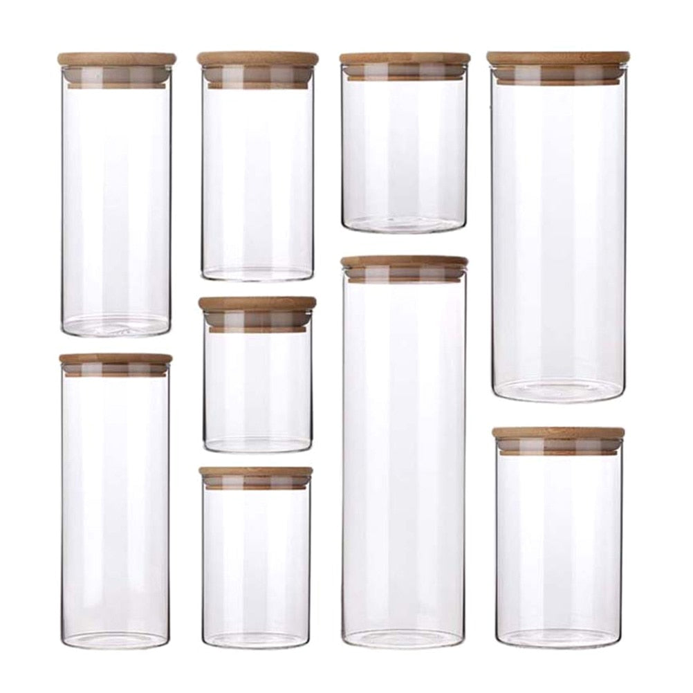 Multi-Size Sealed Food Storage Containers