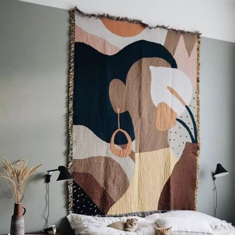 Creative Earring Throw Blanket