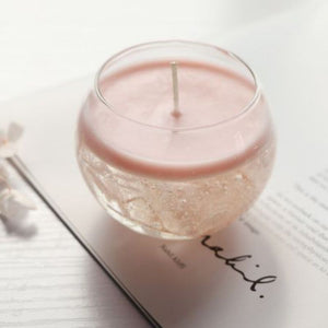 Floral Gel Candle Cup