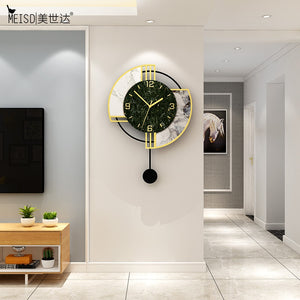 Galileo Pendulum Modern Quarts Hanging Wall Clock